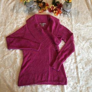 Athleta Pink Sochi Cozy Sweater Size Large